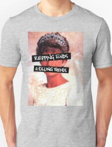 Repping ends and killing trends Unisex T-Shirt