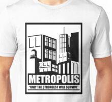 Metropolis (White) Unisex T-Shirt