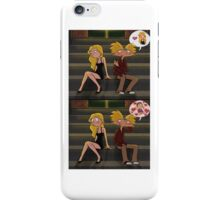 Helga and Arnold dating iPhone Case/Skin