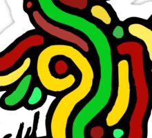 Cool Reggae Bird Sticker