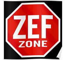 Zef Zone Poster