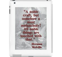 A Noble Craft - Melville iPad Case/Skin