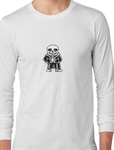 Sans - Sun's out Puns out Long Sleeve T-Shirt