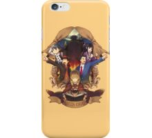 Professor Layton And Phoenix Wright iPhone Case/Skin