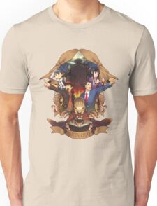 Professor Layton And Phoenix Wright Unisex T-Shirt