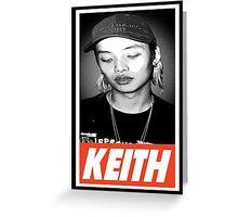 Keith Greeting Card