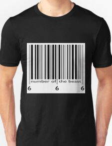 NUMBER OF THE BEAST BARCODE T-Shirt
