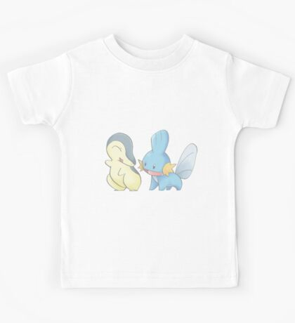 Cyndaquil and Mudkip Kids Tee