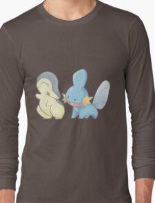 Cyndaquil and Mudkip Long Sleeve T-Shirt