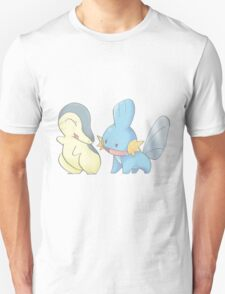 Cyndaquil and Mudkip Unisex T-Shirt