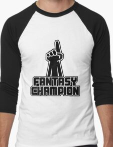 Fantasy Champion Men's Baseball ¾ T-Shirt