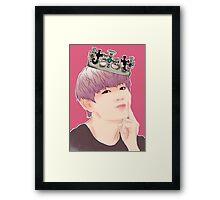 king of suburbia Framed Print