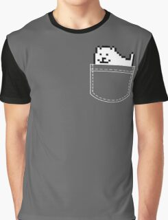 Undertale Dog Pocket Tee Graphic T-Shirt
