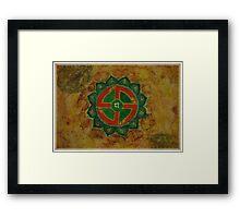 Anahata - Heart chakra  Framed Print