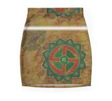 Anahata - Heart chakra  Mini Skirt
