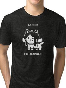 Undertale Temmie Tri-blend T-Shirt