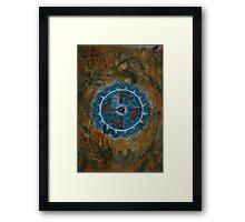 Vishuddha - Throat Chakra 5  Framed Print
