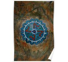 Vishuddha - Throat Chakra 5  Poster