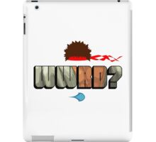 WWRD? iPad Case/Skin