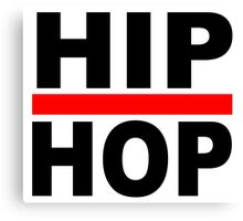 HIP HOP STRIP Canvas Print