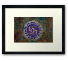 Sahasrara - Crown Chakra Framed Print