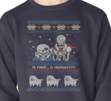 Sans and Papyrus Festive Sweater Design Pullover