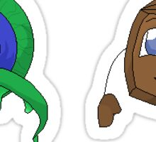 Tiny Box Tim and Septiceye Sam Sticker
