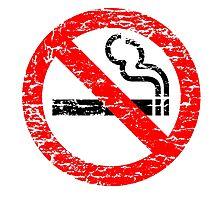 NO SMOKING  Photographic Print