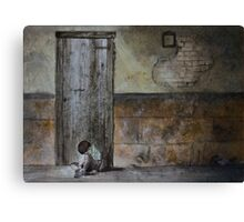 Alone - original photo by Naomi Frost Canvas Print