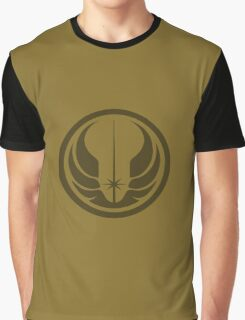 Star Wars Jedi Republic logo Graphic T-Shirt