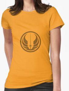 Star Wars Jedi Republic logo Womens Fitted T-Shirt