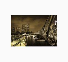 The Helix Bridge - bay view  Unisex T-Shirt