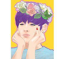 flower boy (V version) Photographic Print