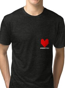 Determination Heart Tri-blend T-Shirt