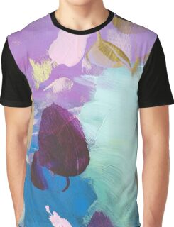 Abstract Painting in mint and mauve 15/18 Graphic T-Shirt