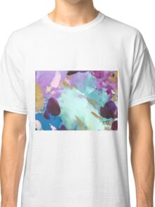 Abstract Painting in mint and mauve 15/18 Classic T-Shirt