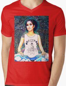 Her Mens V-Neck T-Shirt