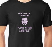 Doctor Who - Anthony Ainley Master Unisex T-Shirt