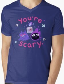 You're scary. (Ghost pokemon) Mens V-Neck T-Shirt