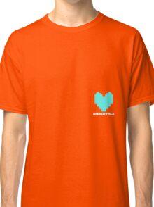 Sans Determination Heart Classic T-Shirt