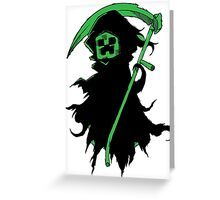 Death Creeper Greeting Card