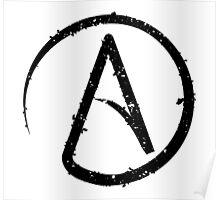 ATHEISM SYMBOL Poster
