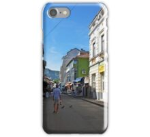 A street in Mostar iPhone Case/Skin
