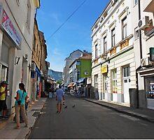 A street in Mostar by rasim1
