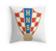 HNS Crest Throw Pillow