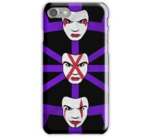 The Faces Of Hagan iPhone Case/Skin