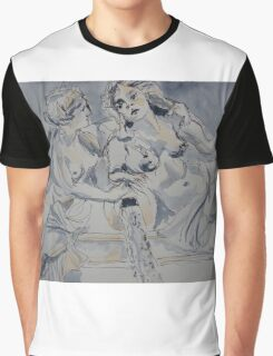 Marble statues, Parliament, Vienna 2010Ⓒ  Graphic T-Shirt