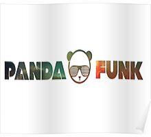Panda family. Poster