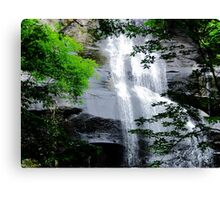 """""""Waterfall"""" by Carter L. Shepard""""  Canvas Print"""