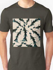 Vogue Vintage Diesel Blue Fashion Dress Flapper Goth Dark Unisex T-Shirt